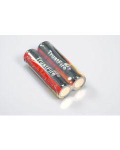 Trustfire Protected 18650 Batterie rechargeable Li-ion Li-ion (1 paire)