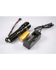UniqueFire UF-2170 Cree XM-L T6 1200 Lumen mémoire LED Flashlight inclus battry & chargeur