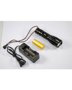 UniqueFire UF-2180 Cree XM-L T6 3 modes 1200-Lumen mémoire LED Flashlight inclus battry & chargeur