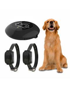 Nouveau système électronique sans fil de clôture pour chiens de compagnie et de formation de chien Collar Beep Shock Vibration Training and Fence Function