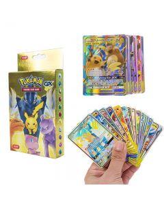 100 cartes Pokémon assorties 37 GX 63 TAG TEAM Boîte de rappel scellée Cartes à collectionner