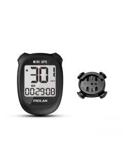 Meilan M3 MINI GPS Ordinateur de vélo vélo GPS Compteur de vitesse Vitesse Altitude DST Temps de trajet Ordinateur de vélo sans fil