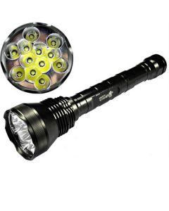 Eternalfire 12T6 Haute puissance 12 * CREE XM-L T6 LED TORCH 13800 LUMENS 5 modes LED lampe de poche LED-Light Unit