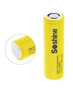 Soshine IMR 21700 Batterie 3.7v 14.8Wh 4000mah Batterie rechargeable Li-ion