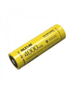 NITECORE NL2140 4000MAH 3.6V 14,4Wh 21700 batterie rechargeable Li-ion