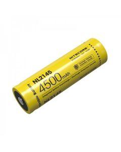 NITECORE NL2145 4500MAH 3.6V 16.2Wh 21700 batterie rechargeable Li-ion