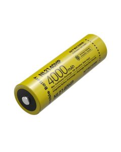 NITECORE NL2140HP 4000MAH 3.6V 14.4Wh 21700 batterie rechargeable Li-ion