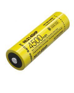 NITECORE NL2145HP 4500MAH 3.6V 16.2Whw4h 21700 batterie rechargeable Li-ion