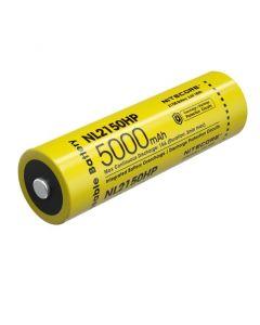 NITECORE NL2150HP 5000MAH 3.6V 18V 18V 21700 batterie rechargeable Li-ion