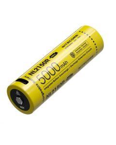 NITECORE NL2150R 5000MAH 3.6V 18V 18Wh 21700 Batterie rechargeable USB-C LI-ION