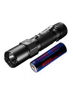 JETBEAM KO-02 EDC CREE XHP35 1800Lumes 21700 Batterie USB rechargeable lampe de poche à LED rechargeable