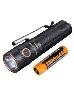 Fenix E30R 1600 Lumens et 203 mètres de lampe de poche rechargeable EDC à LED
