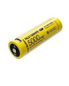 NITECORE NL2150HPR 5000MAH 3.6V 18V 18WH 21700 batterie rechargeable USB-C LI-ION