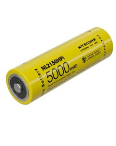 NITECORE NL2150HPI 5000MAH 3.6V 18V 18V 21700 batterie rechargeable Li-ion