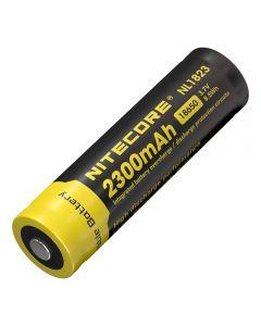 NITECORE 18650 NL1823 2300 Batterie rechargeable rechargeable Li-ion 8.5v.