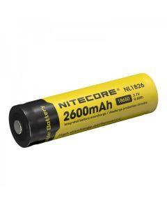 Nitecore 18650 NL1826 2600 Batterie rechargeable rechargeable Li-ion 9.6