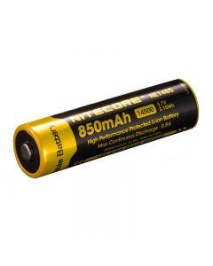 NITECORE NL1485 850MAH 14500 3.7V 3.1Wh Li-ion Batterie rechargeable