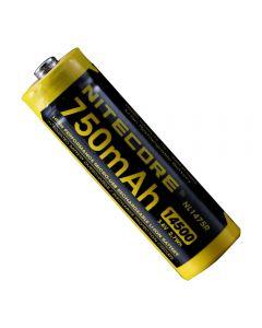 NITECORE NL1475R 750MAH14500 3.6V 2.7Wh AA Batterie de li-ion rechargeable micro-USB
