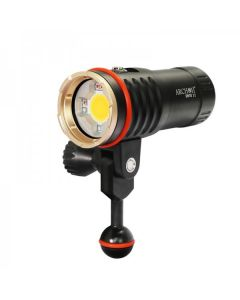 Archon DM10 II / WM16-II Diving vidéo vidéo COB LED 3500lM Lumière blanche neutre / rouge / lampe de plongée de lumière UV