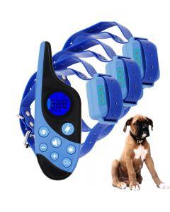 2021 Nouveau 500m Electric Dog Training Collar Pet Remote Control Waterproof Rechargeable avec écran LCD pour all size shock vibration sound