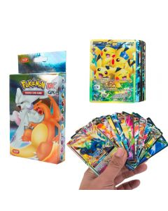 100 cartes Pokémon assorties 20MEGA 58BASIC 20GX 1TAG TEAM 1ENERGY Booster Box cartes à collectionner