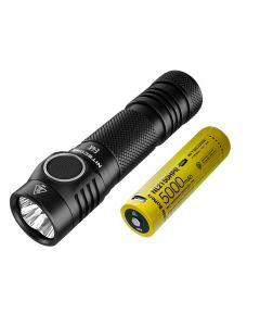 NITECORE E4K 4 X CREE XP-L2 V6 LED 4400 Lumens Lamens de la batterie 21700