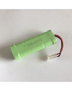 NI-MH 7.2V 2500MAH SC (3 + 3) Paquet de batterie BLANC RC