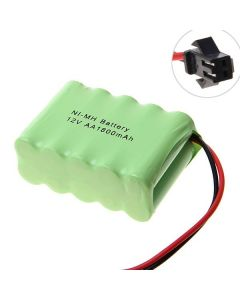Batterie rechargeable NI-MH AA 12v 1800mah, SM prise