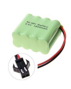 Batterie Ni-MH AA SM Bouquet de 9,6 V 1800mAh