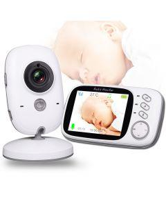 VB603 Sans fil Video Color Baby Monitor avec 3.2Inches LCD 2 voies Audio Talk Talk Vision Night Vision Sécurité Caméra Caméra Caméra Baby-sitter