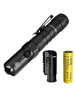 NITECORE MH12 V2 CREE XP-L2 V6 LED 1200 lumens 21700 batterie lampe de poche de batterie