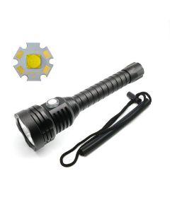 Plaque de poche A27 Cree XHP70.2 Lampe de poche 100m sous-marine