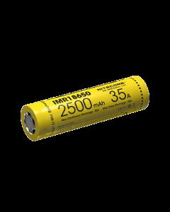 NITECORE IMR18650 2500MAH 35A Batterie rechargeable -1pc