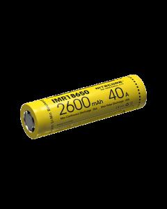 Nitecore IMR18650 2600MAH 40A Batterie rechargeable -1PC