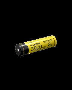 NITECORE NL1835HP 3500MAH 3.6V 12.6Wh 8A Batterie haute performance 18650