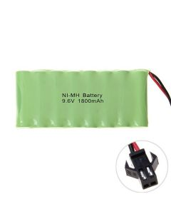 Batterie rechargeable NI-MH AA 9.6V 1800mAh, SM prise