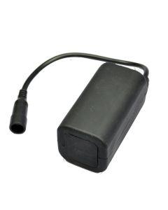 Paquet de batterie rechargeable imperméable 8,4 V 4 * 18650 pour feux de vélo