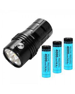 IMALENT MS06 6 CREE XHP70.2 25000 Lumens lampe de poche LED