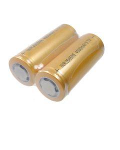 Batterie rechargeable rechargeable Li-ion haute capacité de haute capacité de 4000mAh (1 paire)