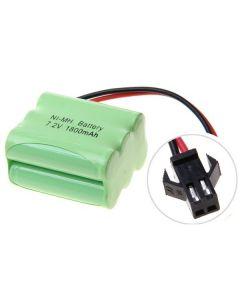 NI-MH AA 7,2V 1800MAH SM Plug 6 * batterie AA