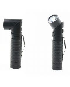 Lampe de poche USB Rechargeable LED CREE XM-L T6 700 lumens réglable-phare aimant torche