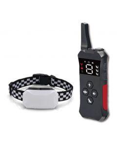2021 NOUVEAU collier d'entraînement pour chiens avec collier de choc étanche rechargeable à distance pour chiens 3 modes d'entraînement, vibrations sonores et choc