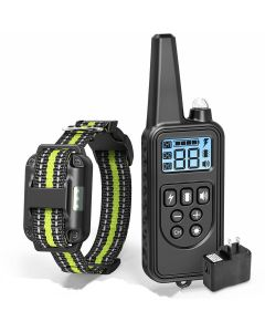 2019 NEW 800m Electric Dog Training Collar Pet Remote Control Waterproof Rechargeable with LCD Display for All Size Bark-stop Collars 2019 NEW 800m Electric Dog Training Collar Pet Remote Control Waterproof Control Rechargeable with LCD Display for All Si