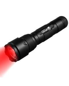 ULTRAFIRE WF-502B.2 XP-E2 LED zoomable lumière rouge lampe de poche