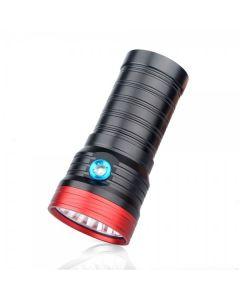 Sky Ray S118 18T6 18xcree XM-L T6 15000-Lumen USB de lampe de poche à LED rechargeable