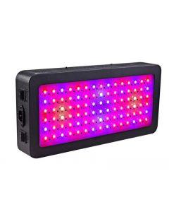 LED Grow Sight, 600 watts Lampe de plante à spectre complet avec interrupteur, kits de lampe de croissance IR & UV pour serre Hydroponic Seedling Veg et fleur