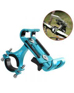 Support de téléphone portable en alliage d'aluminium pour la moto de vélo Moto Mountain Vélo Vélo Vélo Vélo Titulaire de téléphone