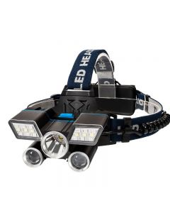 5LED lampe frontale USB Charging camp randonnée urgence lumière de pêche à l'extérieur de l'équipement