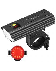 Lumières de vélo NiteBeam BR05 5x Cree XML T6 5000 Lumens Lumière de la lumière du vélo rechargeable rechargeable USB