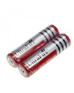Batterie Ultrafire BRC 3000MAH 37V 18650 avec PCB (1 paire)
